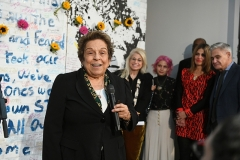 Rep. Donna Shalala, Robin Strongin, Tori Gonzalez, Patricia Oliver, Charles Krause