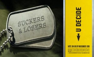 Suckers and Losers Dog Tags